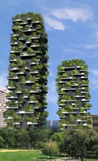 Bewaldete hochh user in mailand bosco verticale architektur und architekten news - Immeuble vegetal ...