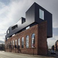 restaurant in sheffield von project orange parasit auf dem dach architektur und architekten. Black Bedroom Furniture Sets. Home Design Ideas