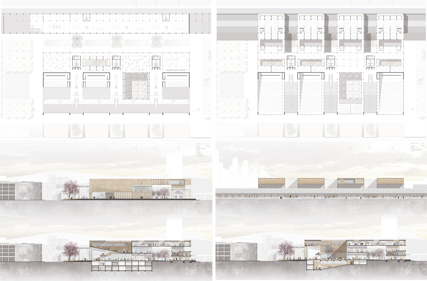 Abschlussarbeit campus of creative economies fabian for Architektur layouts