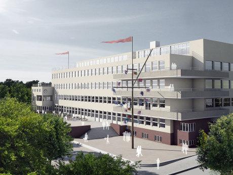 Gmp architekten von gerkan marg und partner hamburg for Architekten hamburg altona