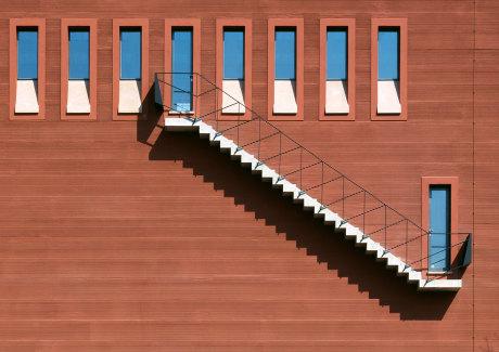 Christoph m ckler architekten frankfurt am main for Raumtreppe