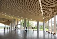 Gemeindezentrum in belgien modern gefaltet architektur for Dujardin 817