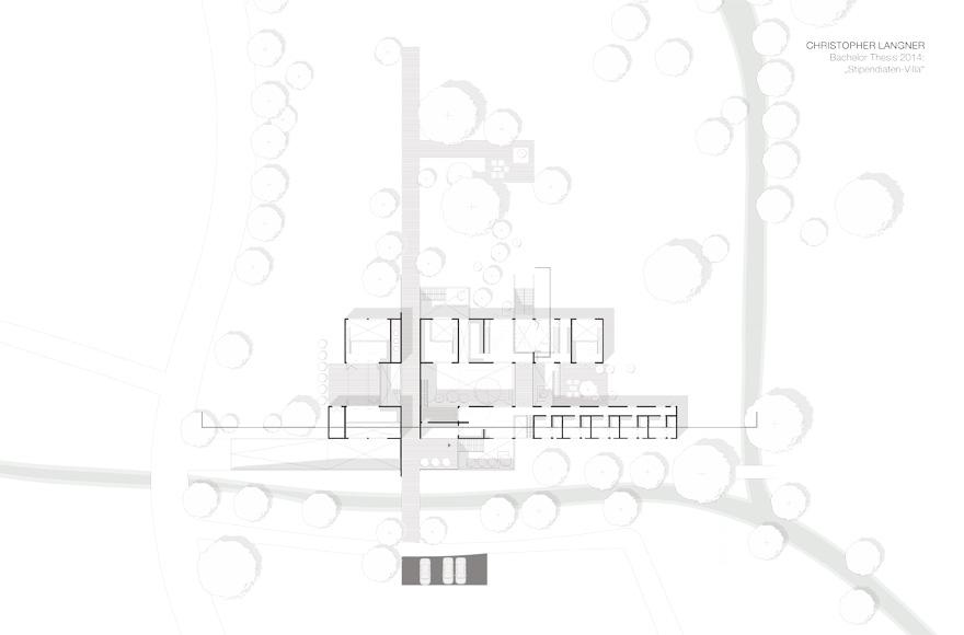 aufgabenstellung master thesis architektur villa