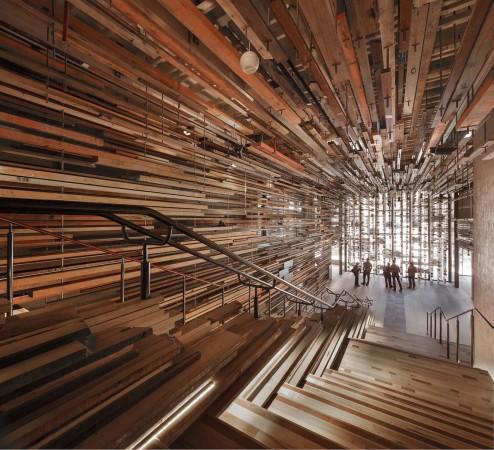 Holz architektur innenraum  BauNetz Architektur-News