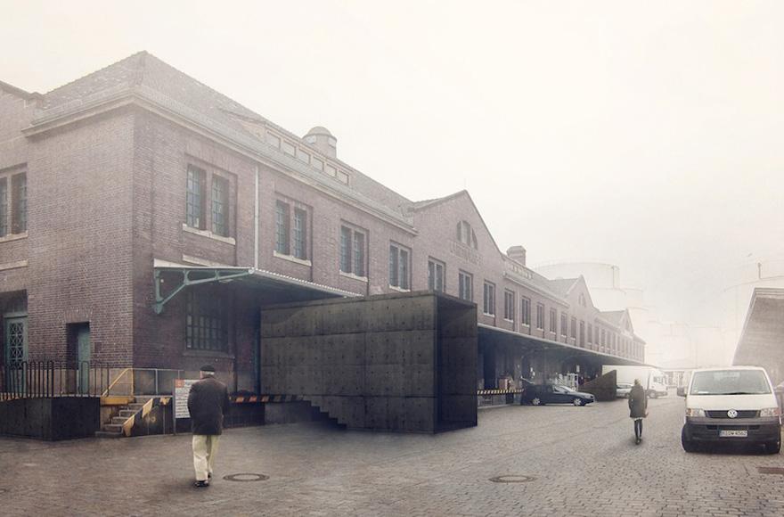 Abschlussarbeit behala westhafen berlin fabian kieven for Architektur master berlin