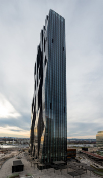 DC-Tower von Dominique Perrault in Wien