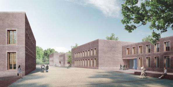 Campus Neues Palais in Potsdam - Erster Preis für Bruno Fioretti Marquez