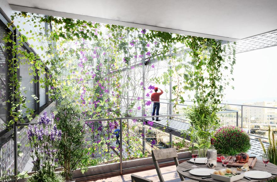 Abschlussarbeit la maison du vert felix dechert for Architektur master berlin