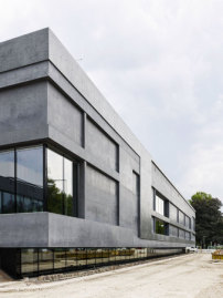 Architekten In Hannover museumserweiterung meili architekten neo brutalismus in