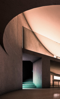 """Ellipse 1501 House"" in Rom, Visualisierung: Antonino Cardillo"
