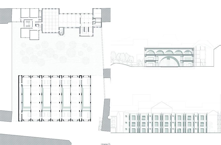 abschlussarbeit haus des tanzes felix martin rwth aachen campus masters. Black Bedroom Furniture Sets. Home Design Ideas