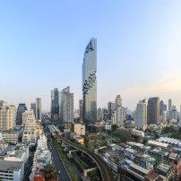 Hochhaus von ole scheeren in bangkok fertiggestellt aufl sung der skyline architektur und - Buro 13 architekten ...