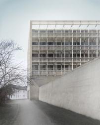 Graue Häuser wettbewerb für studentenwohnheim in weimar entschieden graue