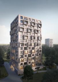 Lin Gewinnen Ideenwettbewerb Berliner Typenhochhaus