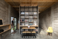 Kleines wohnhaus in ecuador von natura futura betonziegel gut gestapelt architektur und - Natura casa catalogo ...