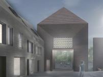 gmp bauen petritor in rostock nach wettbewerb das alte tor im neuen geiste architektur und. Black Bedroom Furniture Sets. Home Design Ideas