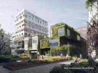 kollaborativer hochhausbau in amsterdam geplant nl architects und kollegen architektur und. Black Bedroom Furniture Sets. Home Design Ideas