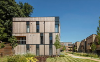 Siedlung von Stockwool Architects in Welwyn bei London, Foto: Morley von Sternberg