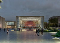 Tabanlioglu Architects, AKM Ataturk Cultural Center, Front