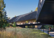 Kunst im Skiresort: Audain Art Museum von Patkau Architects, fertiggestellt 2016.