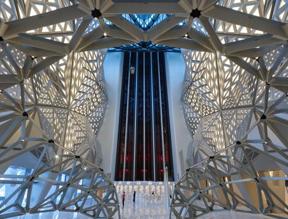 Gebauter 3D-Effekt - Hotel von Zaha Hadid Architects in Macau ...