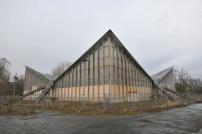 Die Hyparschale von Ulrich Müther in Magdeburg steht seit Jahrzehnten leer und verfällt.