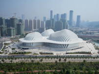 Das Guangxi Kulturzentrum in Nanning ist das vierte von gmp in China entworfene Grand Theater.