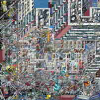 Gesamtsieger + Sieger Digitalzeichnung: Li Han, The Samsara of Building No.42 on Dirty Street, 2017