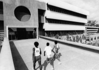 University of Ife in Ile-Ife, Nigeria, Architekten: Arieh Sharon, Eldar Sharon und Harlod Rubin'