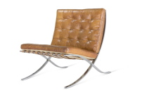 Ludwig Mies van der Rohe, MR 90 / Pavillonsessel, Barcelona Chair, 1929