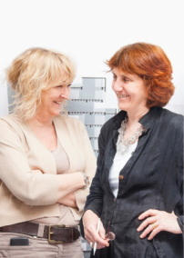 Yvonne Farrell und Shelly McNamara, Partnerinnen von Grafton, Foto: Alice Clancy