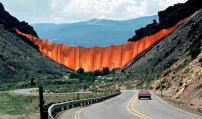 "Christo und Jeanne-Claude: ""Valley Curtain"", Rifle, Colorado, 1970–72"