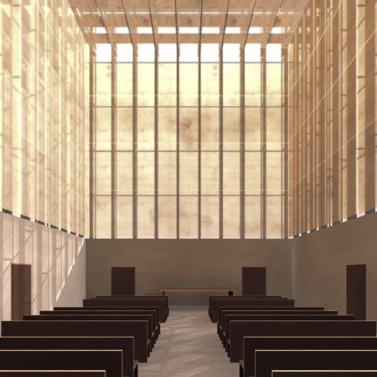 Abschlussarbeit architektur des todes krematorium for Technische universitat berlin architektur