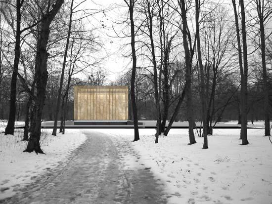 Abschlussarbeit architektur des todes krematorium - Uni dresden architektur ...