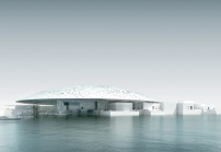 Geplant: der Louvre in Abu Dhabi