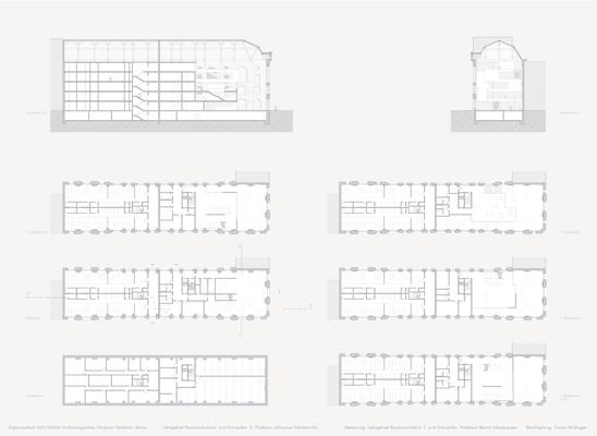 abschlussarbeit arch ologisches museum berlin petriplatz simon bollinger technische. Black Bedroom Furniture Sets. Home Design Ideas