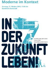 symposium in darmstadt moderne im kontext architektur und architekten news meldungen. Black Bedroom Furniture Sets. Home Design Ideas