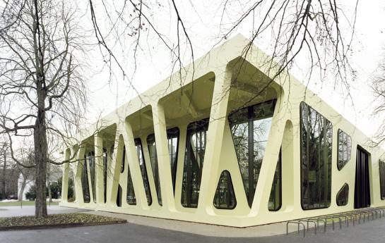 J. MAYER H. Architekten | Profil | Crystal Talk | BauNetz.de