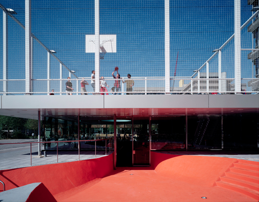 Basket Ball Court Under The Garage Forum Archinect